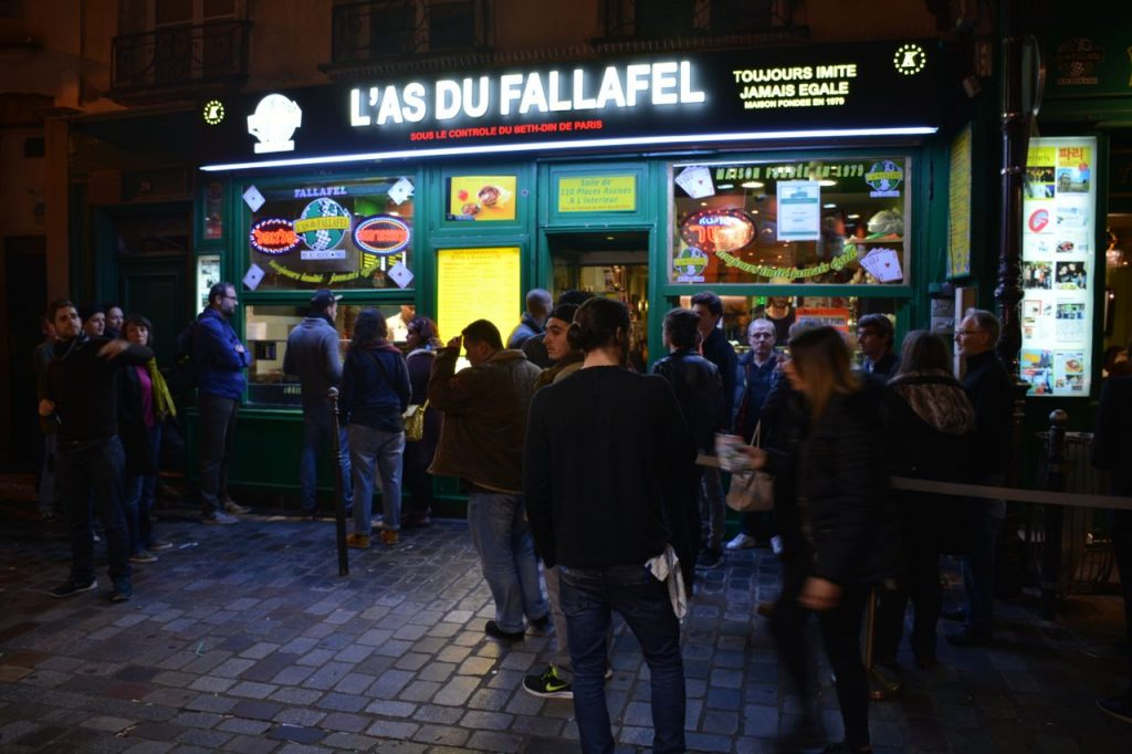 fallafal, Parijs
