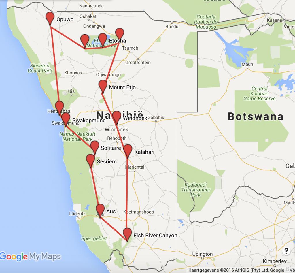 roadtrip Namibië