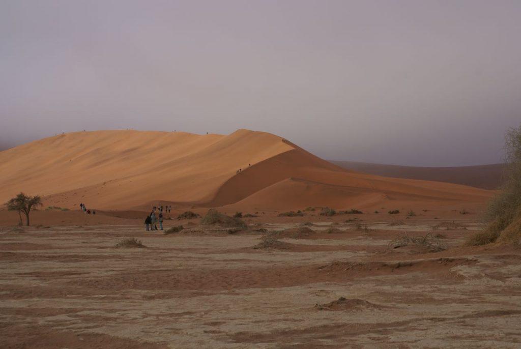 Zandduinen Namibië