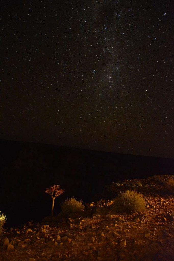 sterrenhemel Namibië