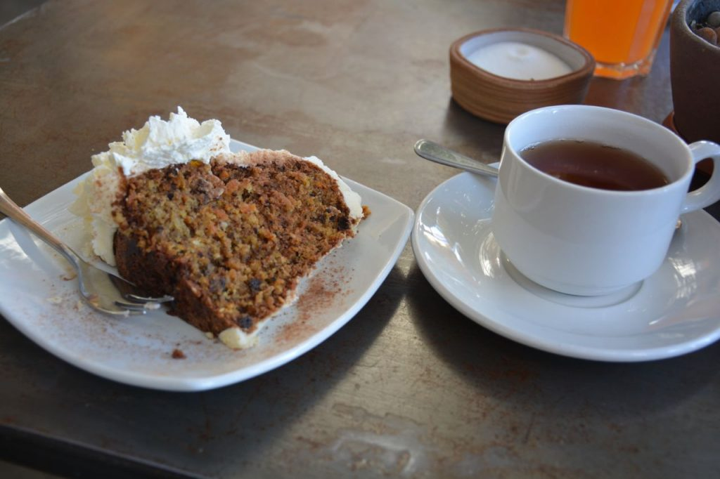 carrot cake Craft Cafe