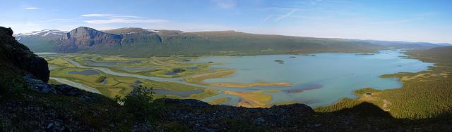 Rapa rivier Zweden