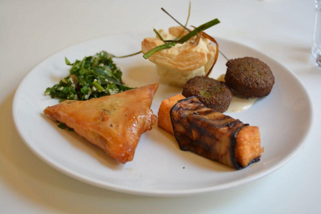 Vegetarisch voorgerecht - Restaurant Syr