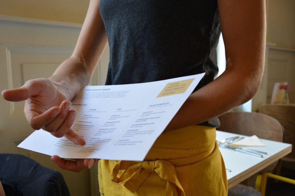 uitleg over de menukaart - Restaurant Syr