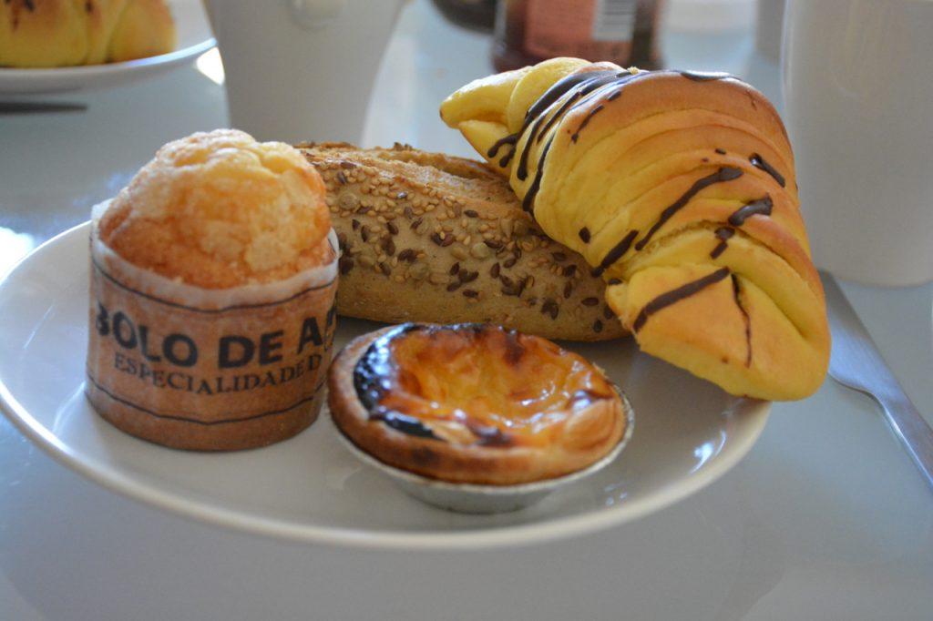 ontbijt in Portugal