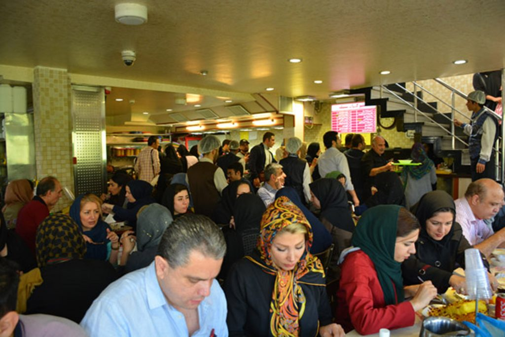 Moslem restaurant Tehran