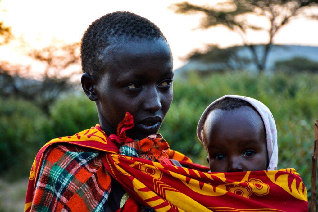 Maasai vrouw